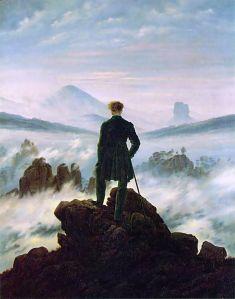 Caminante sobre un mar de niebla | Caspar David Friedrich | 1818