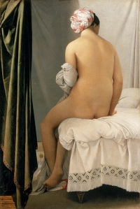 La bañista de Valpinçon - Jean-Auguste-Dominique Ingres - 1808