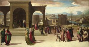 La historia de Papirio | Doménico Beccafumi | 1520