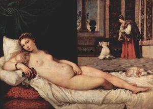 La Venus de Urbino | Tiziano Vecellio | 1538
