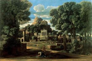Las cenizas de Foción recogidas por su viuda | Nicolas Poussin | 1648