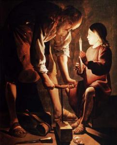 San José, el carpintero | Georges de La Tour | 1640