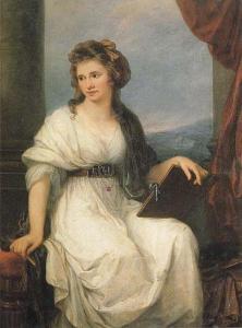 Autorretrato | Angélica Kauffmann | 1787