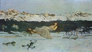 El castigo de la lujuria | Giovani Segatini | 1891