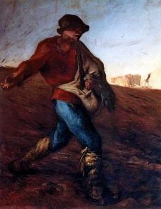 El sembrador | Jean-François Millet | 1850