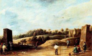 El trío de la ballesta | David Teniers El Joven | 1645