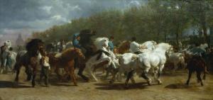 La feria de caballos | Rosa Bonheur | 1855