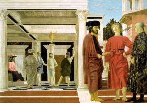 La flagelación de Cristo | Piero della Francesca | 1469