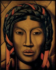 La india de Tehuantepec | Alfredo Ramos Martínez | 1920