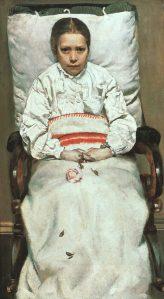 La niña enferma | Christian Krohg | 1881