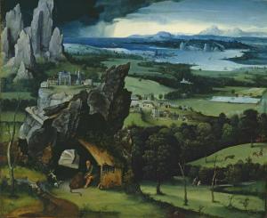 Paisaje con San Gerónimo | Joachim Patinir | 1524