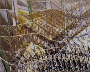 Vencejos Trayectoria de movimiento + Secuencia dinámica | Giacomo Balla | 1913