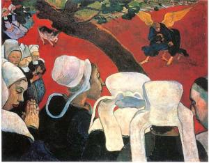 Visión luego del sermón   Paul Gauguin   1888