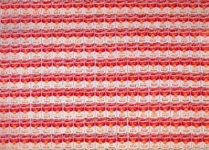 200 latas de sopa | Andy Warhol | 1962