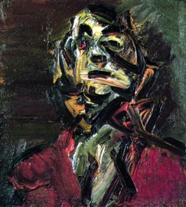 Cabeza de J.Y.M. No. 1 | Frank Auerbach | 1981