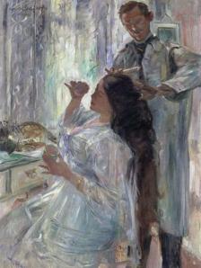 Charlotte Corinth en el tocador | Lovis Corinth | 1911