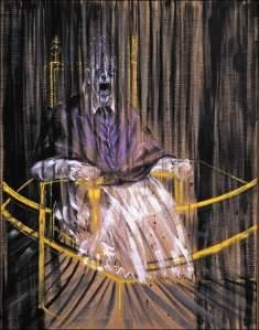 Estudio del retrato de Inocencio X de Velázquez   Francis Bacon   1949