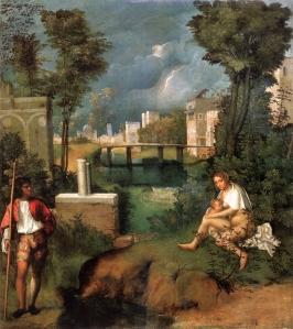 La tempestad | Giorgione | 1508