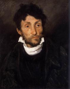 Retrato de un cleptómano | Théodore Géricault | 1822