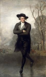 El patinador | Gilbert Stuart | 1782