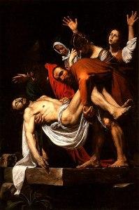 El entierro de Cristo | Caravaggio | 1603