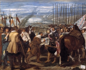 La rendición de Breda | Diego Velázquez | 1635