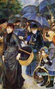 Los paraguas | Pierre-Auguste Renoir | 1886