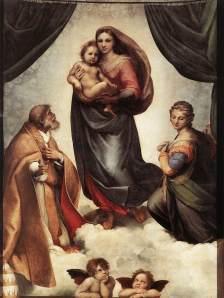 Madonna Sixtina | Rafael | 1514