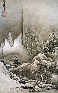 Paisaje invernal| Sesshu Toyo | 1486
