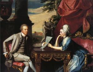 Sr. y Sra. Ralph Izard (Alice Delancey) | John Singleton Copley | 1775