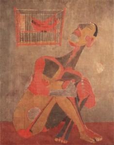 El pájaro que canta | Rufino Tamayo | 1943