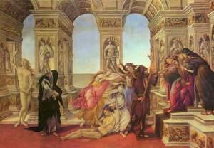 La calumnia de Apeles | Sandro Botticelli | 1494