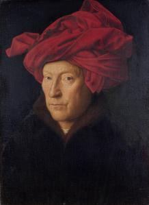 Hombre con turbante rojo | Jan van Eyck | 1433