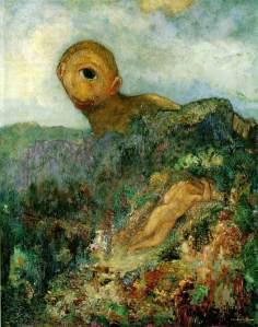 Cíclope | Odilon Redon | 1914
