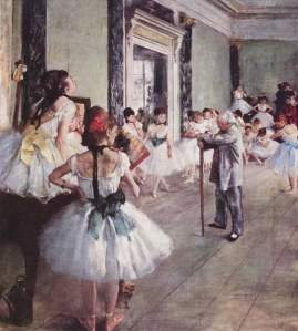La lección de danza | Edgar Degas | 1876