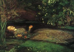 Ofelia | John Everett Millais | 1852