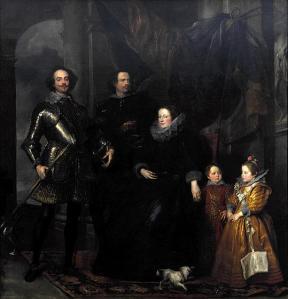 Retrato de la familia Lomellini | Sir Anthony van Dyck | 1623