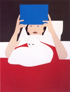 Mujer leyendo | Will Barnet | 1970