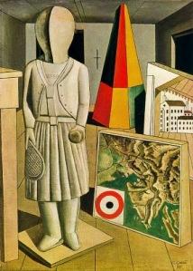 Musa metafísica | Carlo Carrà | 1917