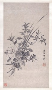 Ramo de flores | Xiang Shengmo | (1630)