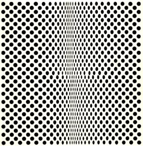 Fisión | Bridget Riley | 1963