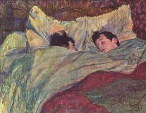 La cama | Henri de Toulouse-Lautrec | 1893