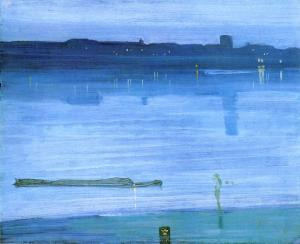 Nocturno: Azul y plata - Chelsea | James McNeill Whistler | 1871