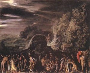 San Pablo en Malta | Adam Elsheimer | 1600