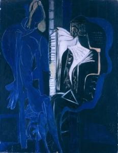 Ébano y azul | Ceri Richards | 1951