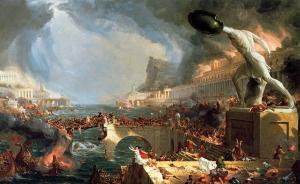 El curso del imperio: Destrucción | Thomas Cole | 1836