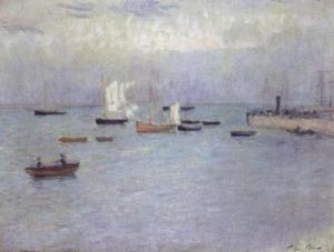 El puerto de Poole | Philip Wilson Steer | 1890