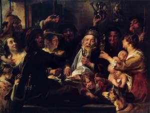 El rey frijol | Jacob Jordaens | 1638