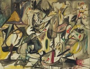 La hoja de la alcachofa es un búho | Arshile Gorky | 1944