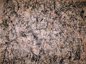 Número 1, 1950 (Bruma lavanda) | Jackson Pollock | 1950